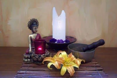 Meditation altar the reality of one - Meditar en casa ...
